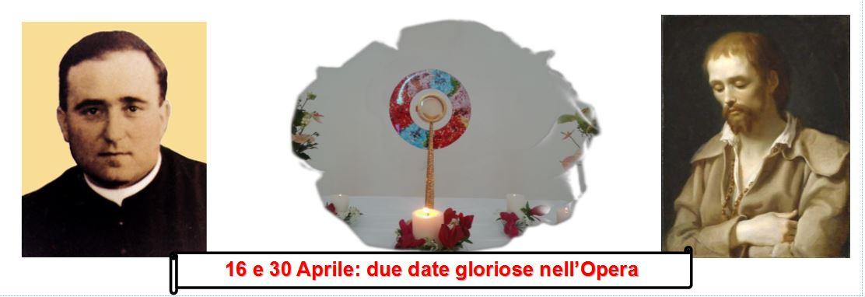 16 e 30 aprile festa
